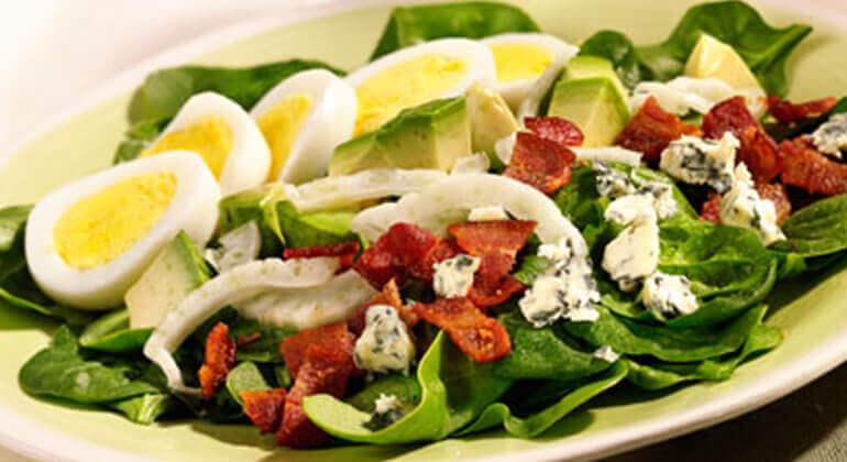 Cobb Salad Recipe Quick Easy Barber Foods